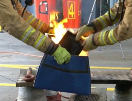 Inflight Fire Protection with the PED Containment Bag