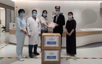 Melchers China Donates Baby Goods to Help Sick Children