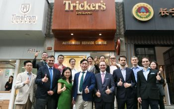 FIRST AUTHORISED SERVICE CENTRE FOR TRICKER'S SHOES IN CHINA OPENS IN SHANGHAI